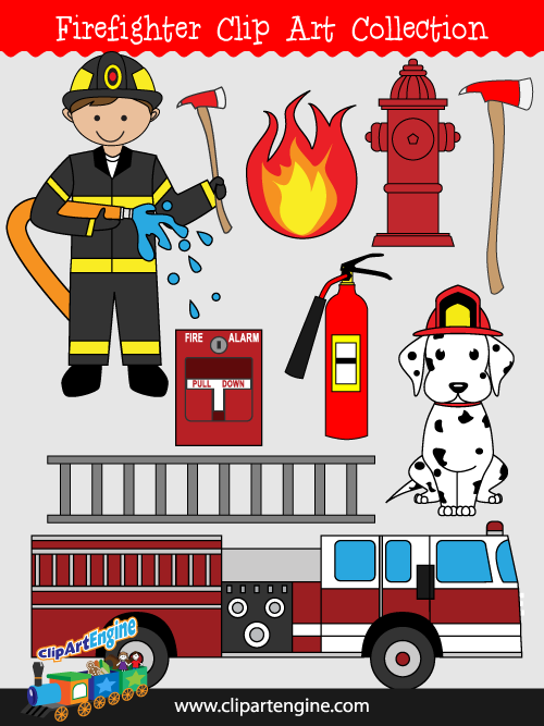 500x667 Firefighter Clip Art Collection For Personal And Commercial Use