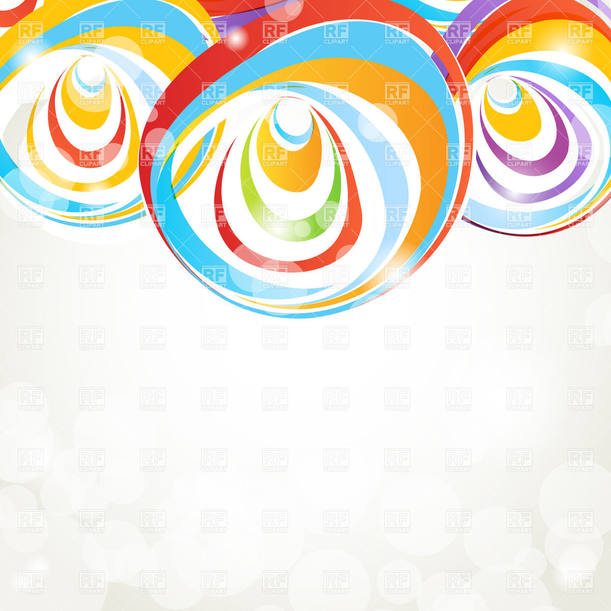 1200x1200 Background With Abstract Colour Shapes Vector Image Vector