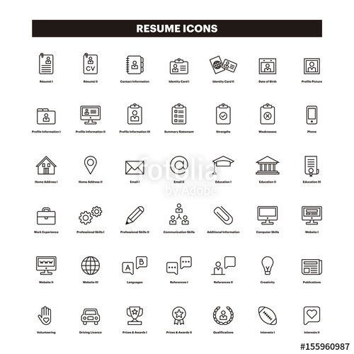 The Best Free Resume Vector Images Download From 112 Free