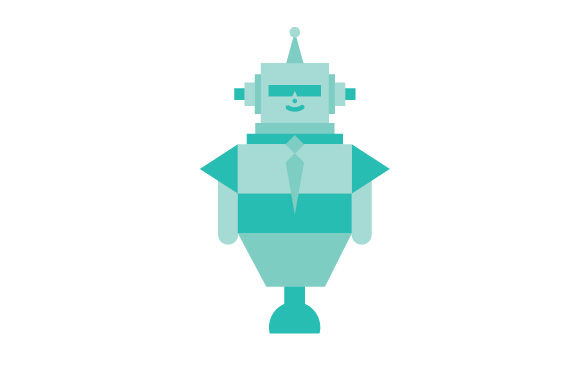 580x377 Robot Illustration Free Vector Set No Cost Royalty Free Stock