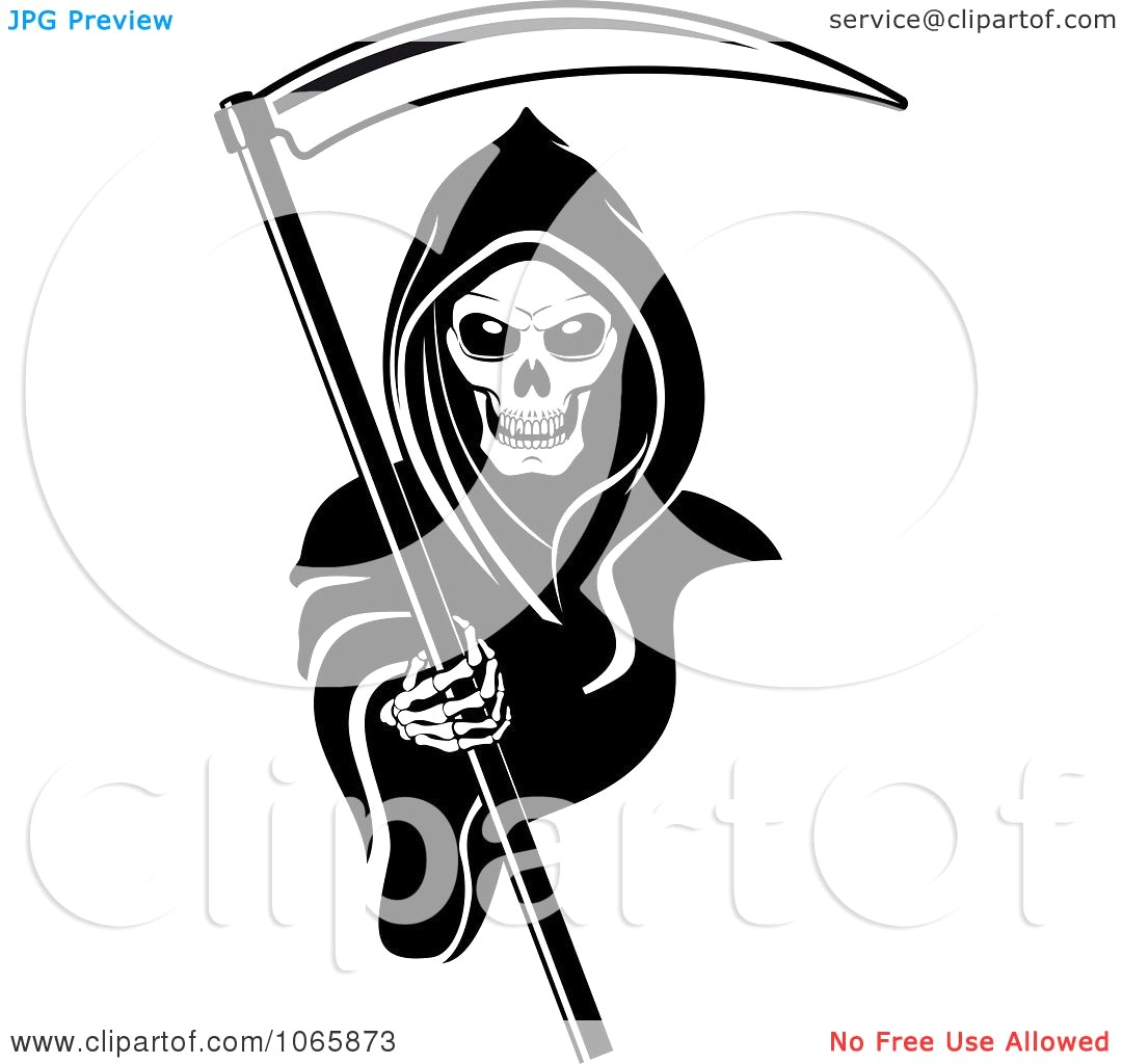 1080x1024 Clipart Grim Reaper 2 Royalty Free Vector Illustration 10241065873