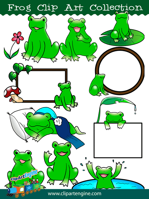 500x667 Frog Clip Art Collection For Personal And Commercial Use
