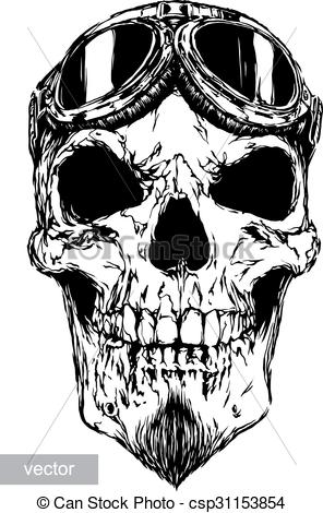 Royalty Free Vector Skull