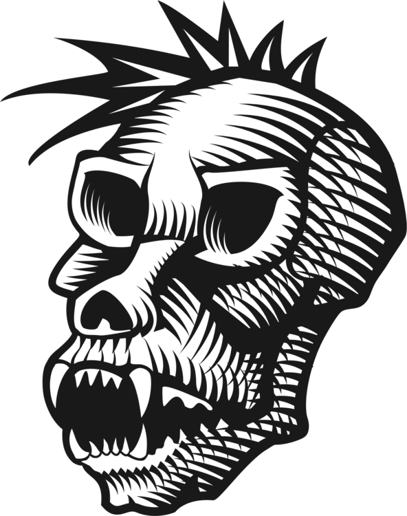 592x750 19 Ape Vector Skull Huge Freebie! Download For Powerpoint