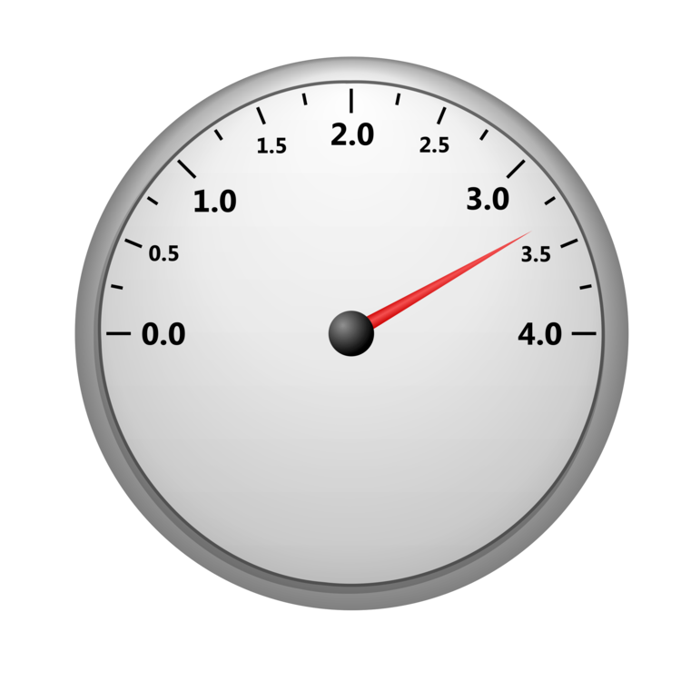 750x750 19 Gauge Vector Tachometer Huge Freebie! Download For Powerpoint