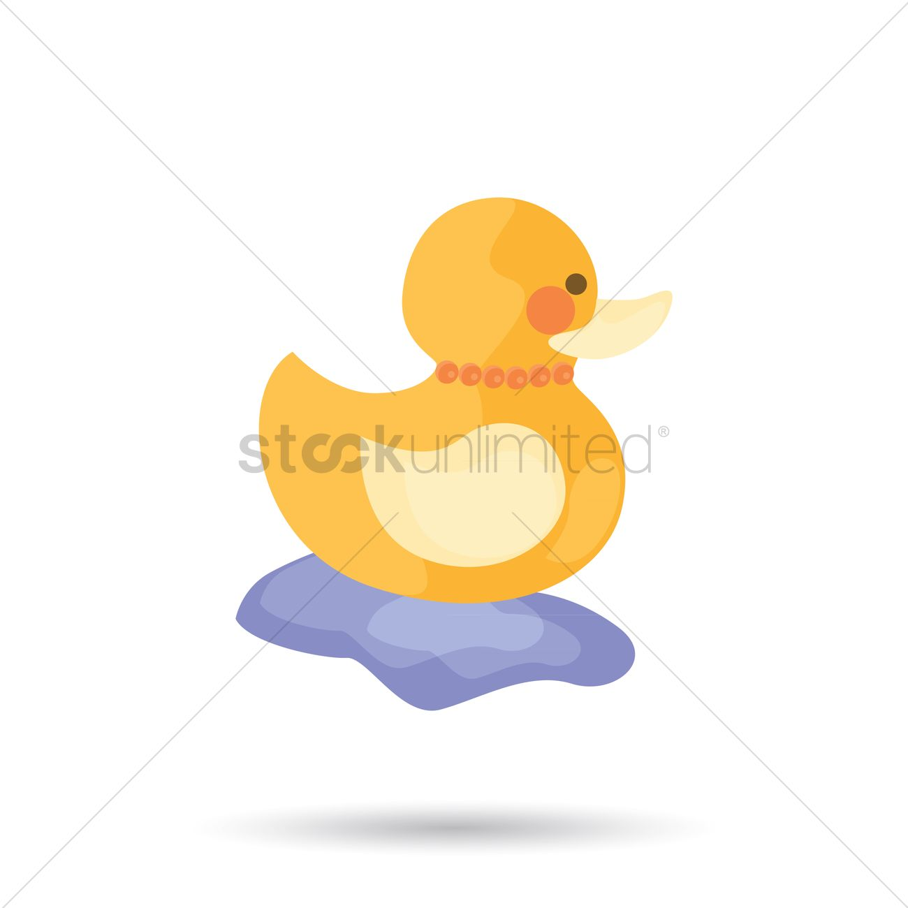 1300x1300 Free Rubber Duck Vector Image