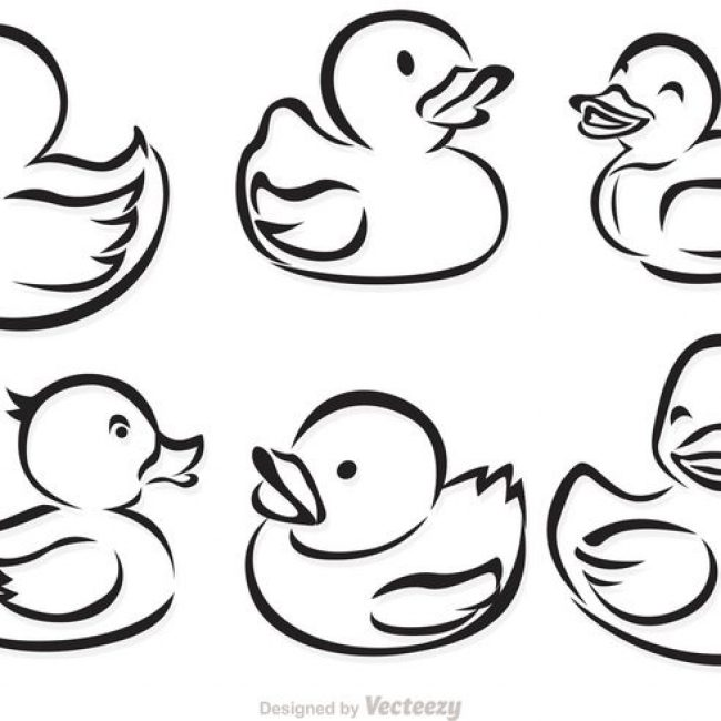 650x650 Collection Of Rubber Ducky Drawing High Quality, Free