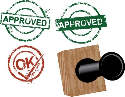 401x312 Free Download Of Approved Rubber Stamps Vector Graphic