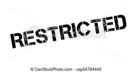 450x246 Restricted Rubber Stamp. Grunge Design With Dust Scratches.... Eps