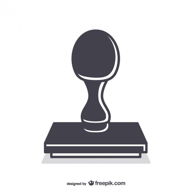 626x626 Rubber Stamp Tool Vector Free Download