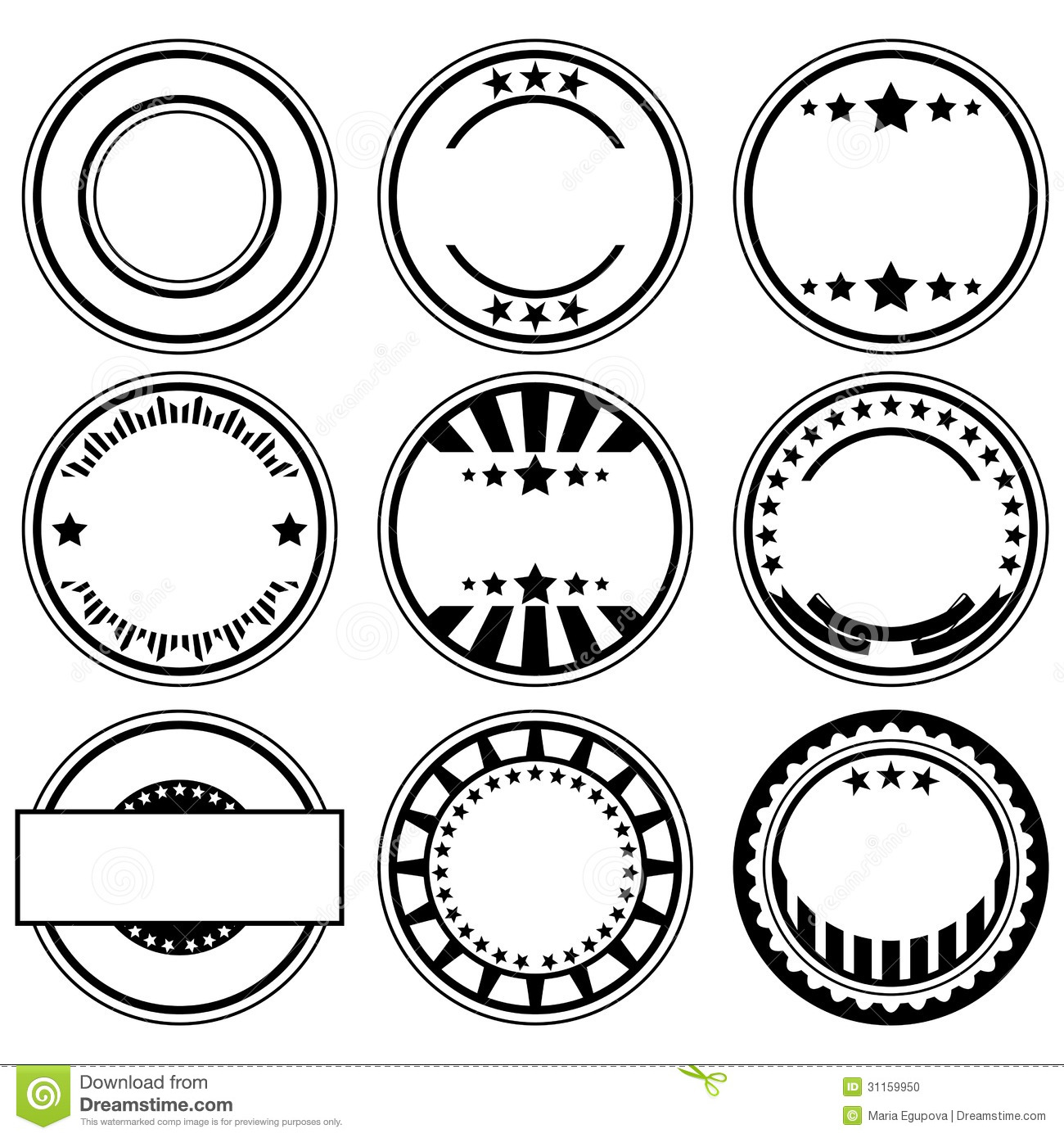 1300x1390 Space Rubber Stamps Clipart