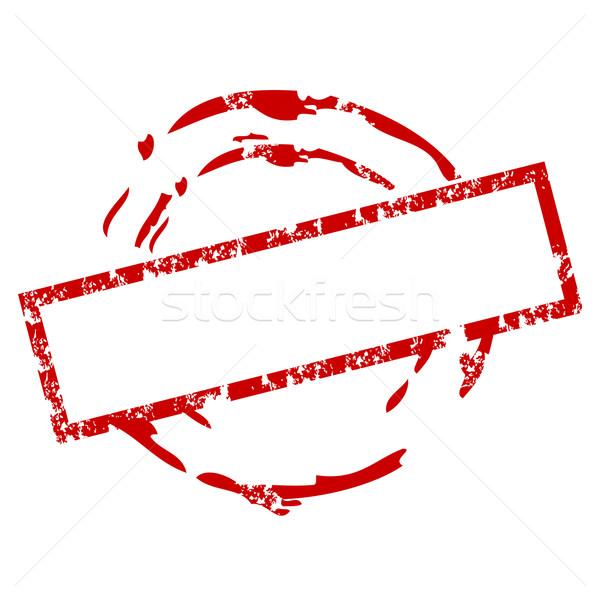 600x600 Blank Rubber Stamp Vector Illustration Burak (Burakowski
