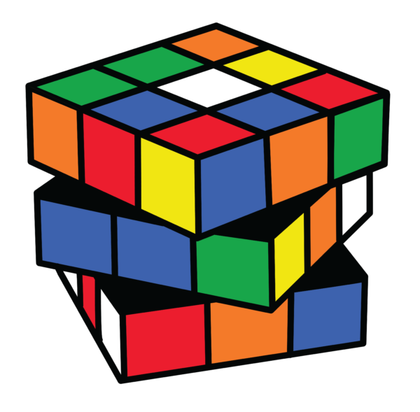 600x589 19 Rubix Cube Vector Library Library Huge Freebie! Download For