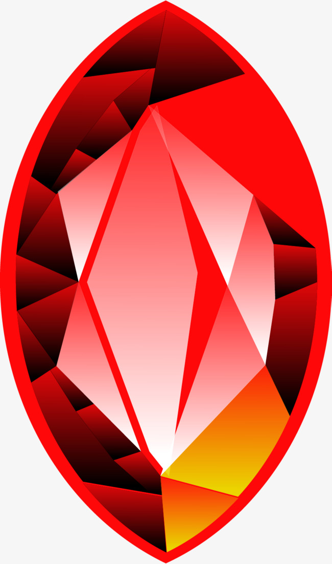 650x1102 Red Gem Vector, Diamonds, Gemstone, Ruby Png And Vector For Free
