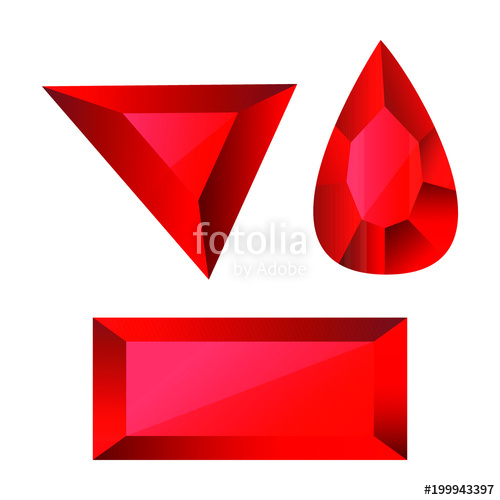 500x500 Ruby Vector Design Stock Image And Royalty Free Vector Files On