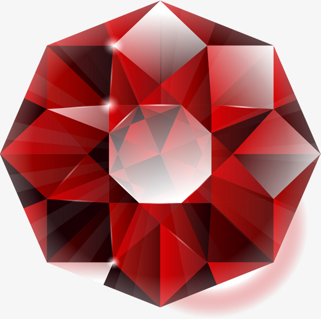 650x645 Cut Surface Ruby, Vector Material, Exquisite Gemstones, Ruby Png