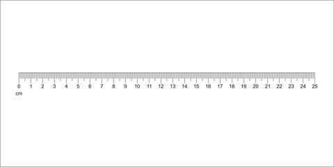 480x240 Ruler 30 Cm. Measuring Tool. Ruler Graduation. Ruler Grid 30 Cm