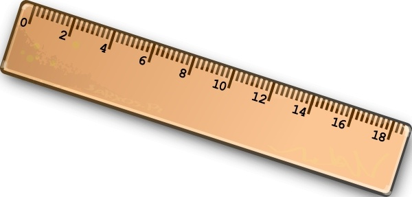 600x287 Ruler Clip Art Free Vector In Open Office Drawing Svg ( .svg