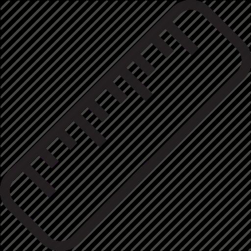 512x512 Ruler Vector