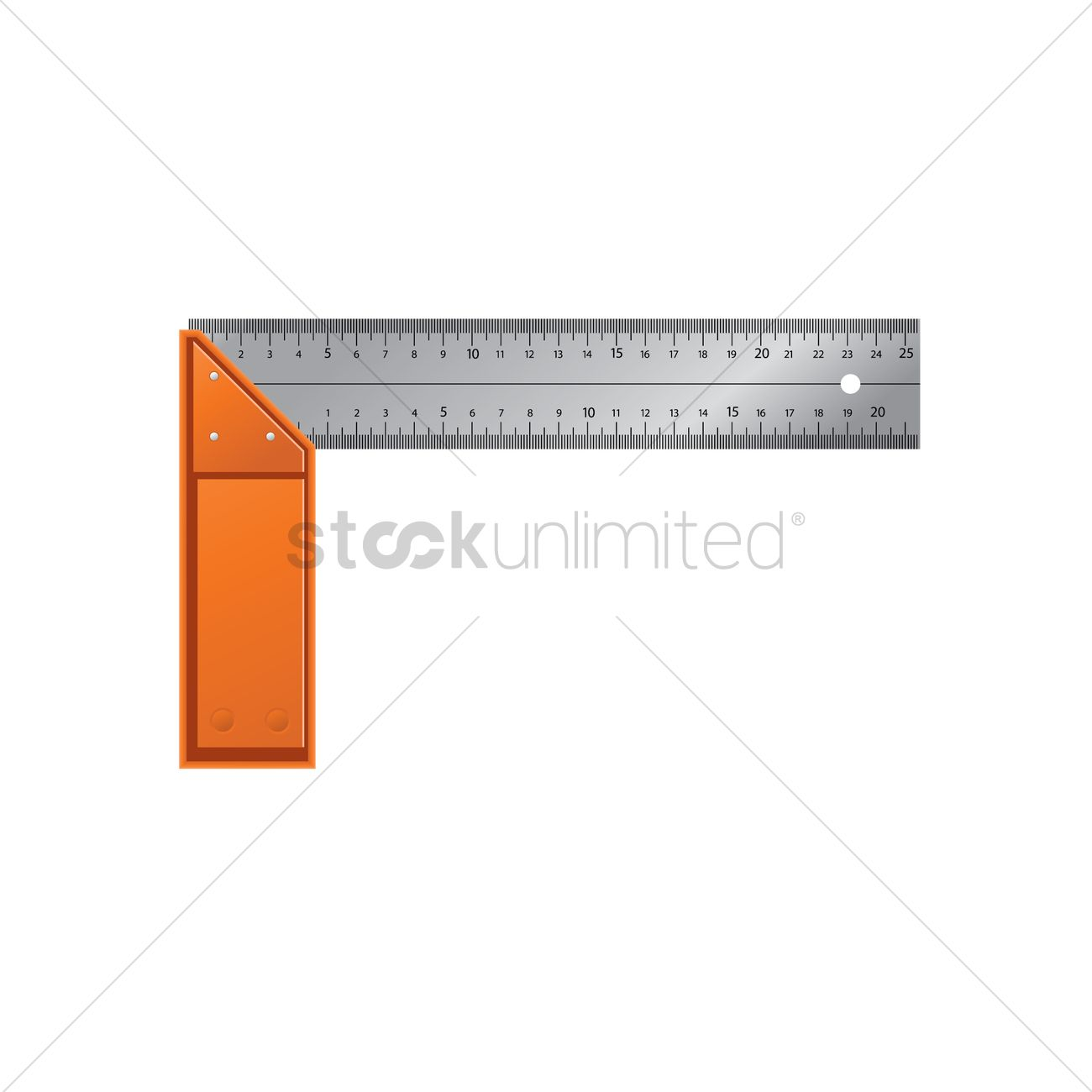 1300x1300 Triangle Square Ruler Vector Image
