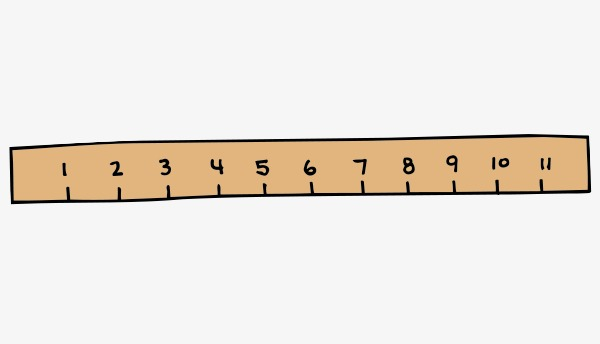 600x344 Vector Cartoon Ruler, Vector, Cartoon, Ruler Png And Vector For