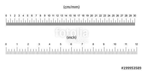 500x250 Ruler Size Indicators Stock Image And Royalty Free Vector Files