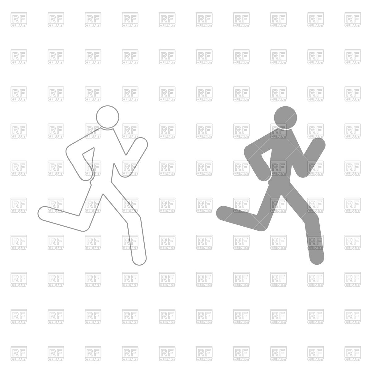 1200x1200 Running Man Icon Vector Image Vector Artwork Of Icons And
