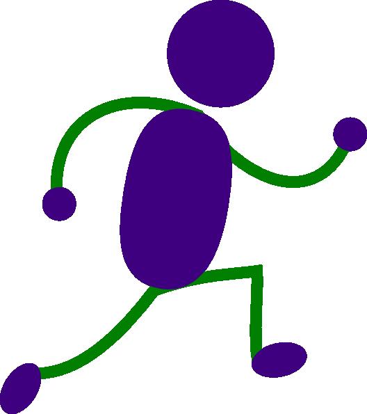 528x595 Running Man Stick Figure
