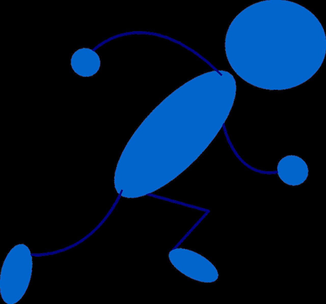 1280x1194 Stickman,stick Figure,matchstick Man,running,runner