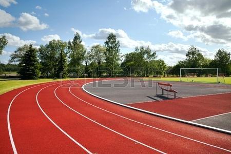 450x300 Running Track Clip Art Running Track And Soccer Field Running