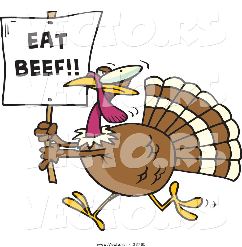 1024x1044 Cartoons Funny Vector Of A Funny Cartoon Turkey Running With A