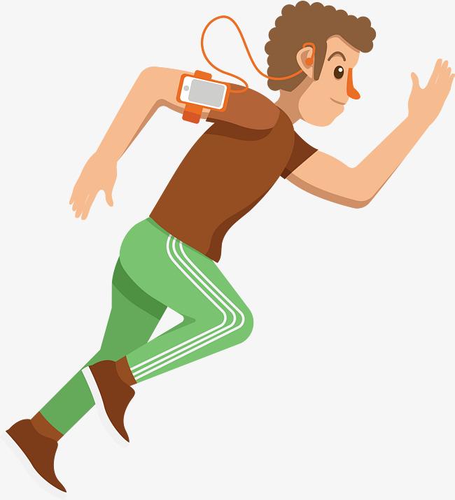 650x714 Running Cartoon Man, Running Vector, Cartoon Vector, Man Vector