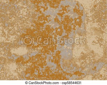450x357 Natural Rusty Texture, Imitation Of Rust. Seamless Vector Pattern.