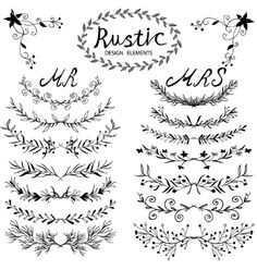 Rustic Vector