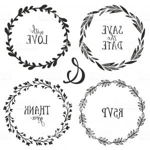 300x300 Vintage Rustic Branch Frame Borders Hand Drawn Vector Orangiausa