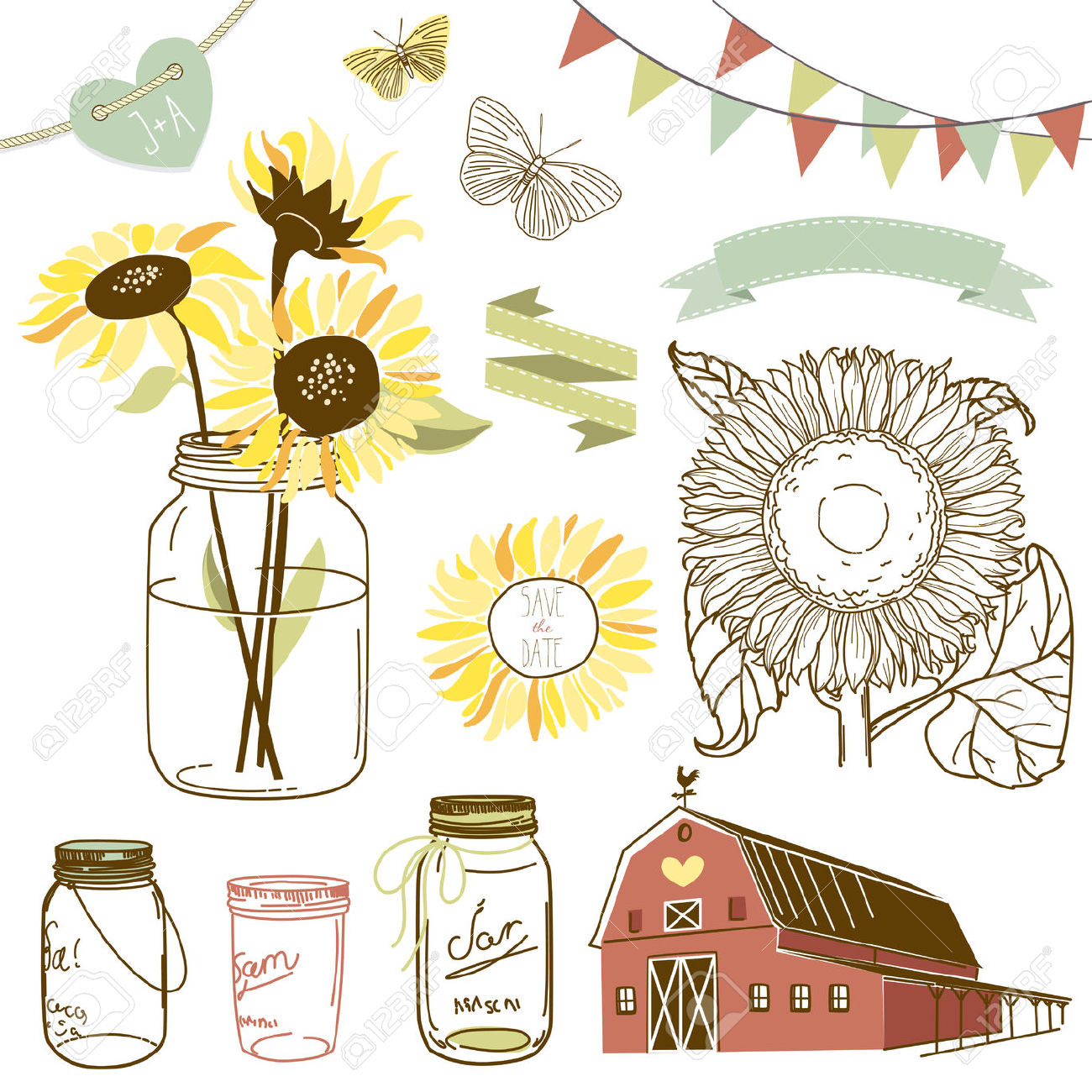 1300x1300 Collection Of Rustic Clipart Images High Quality, Free