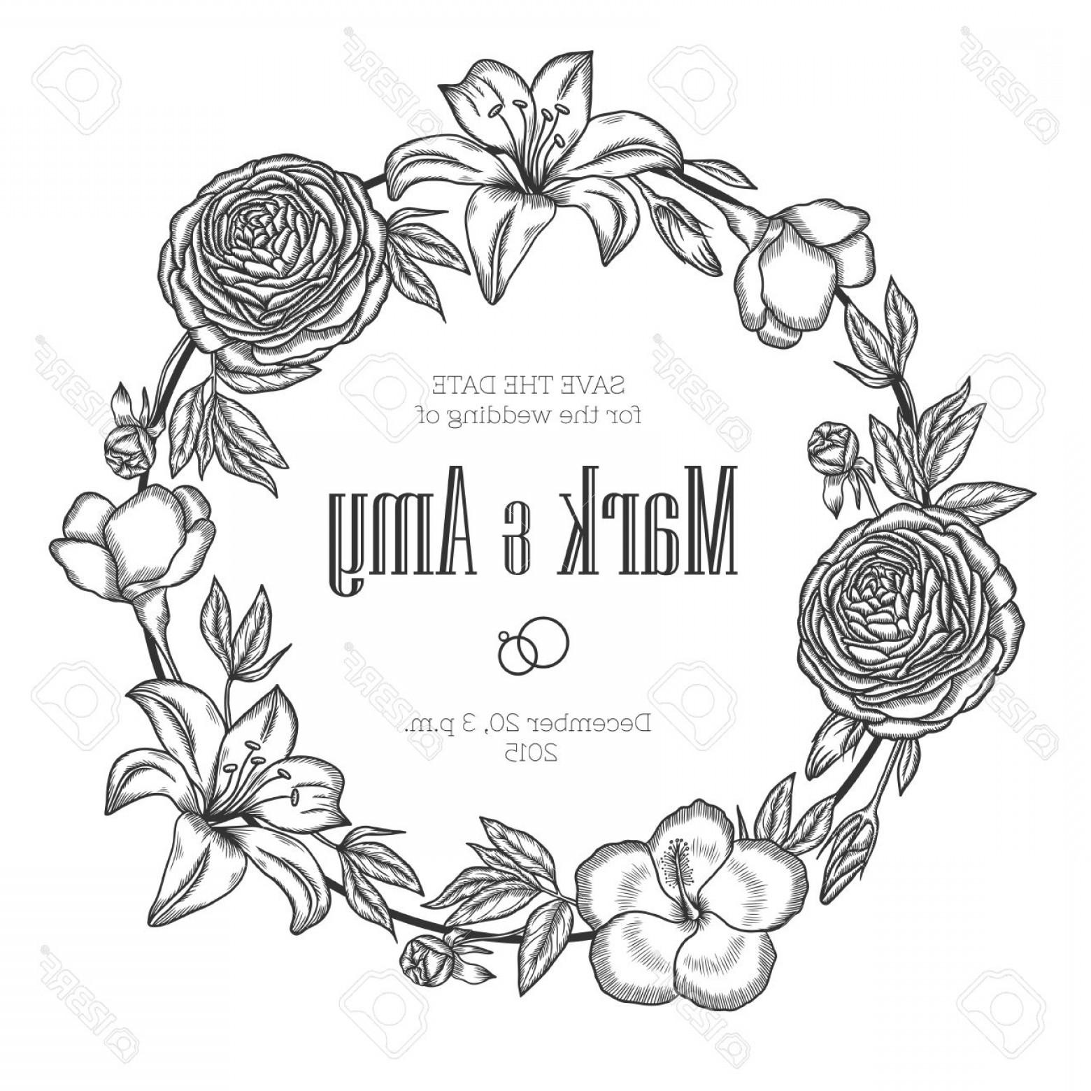 1560x1560 Floral Wreaths Vector Illustrations Lazttweet