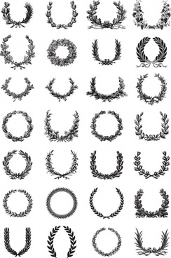 244x368 Wreath Free Vector Download (347 Free Vector) For Commercial Use