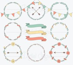 236x212 31 Best Vector Wreaths And Things Images Christmas