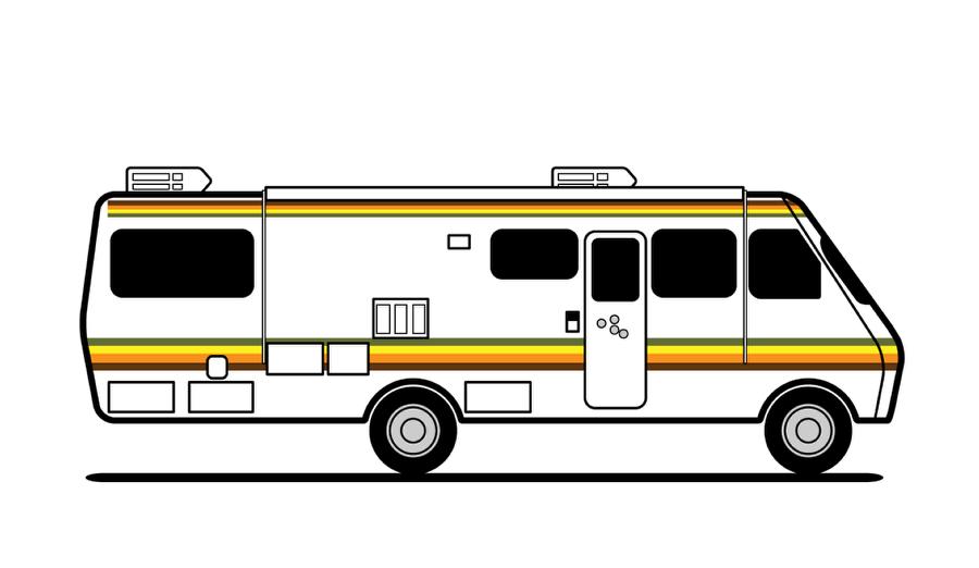 900x522 Vector Breaking Bad Rv In Illustrator