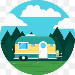 260x260 Caravan Recreational Vehicle Camping Icon