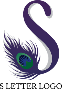 210x300 S Peacock Letter Logo Vector (.ai) Free Download
