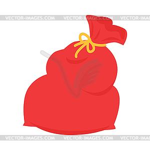 300x300 Santa Claus Red Bag . Xmas Sack