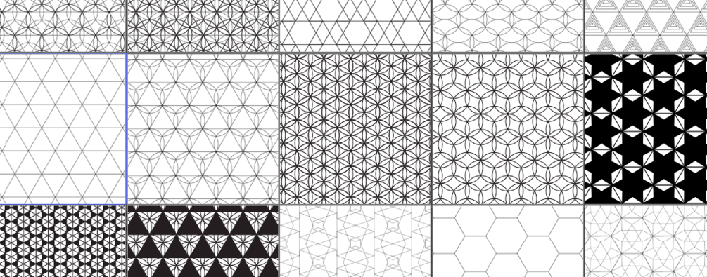 1005x395 Sacred Geometry Pattern Vector Pack Patterns)