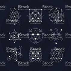 236x236 Sacred Geometry Vector Set Vol. 3 Mandal Art