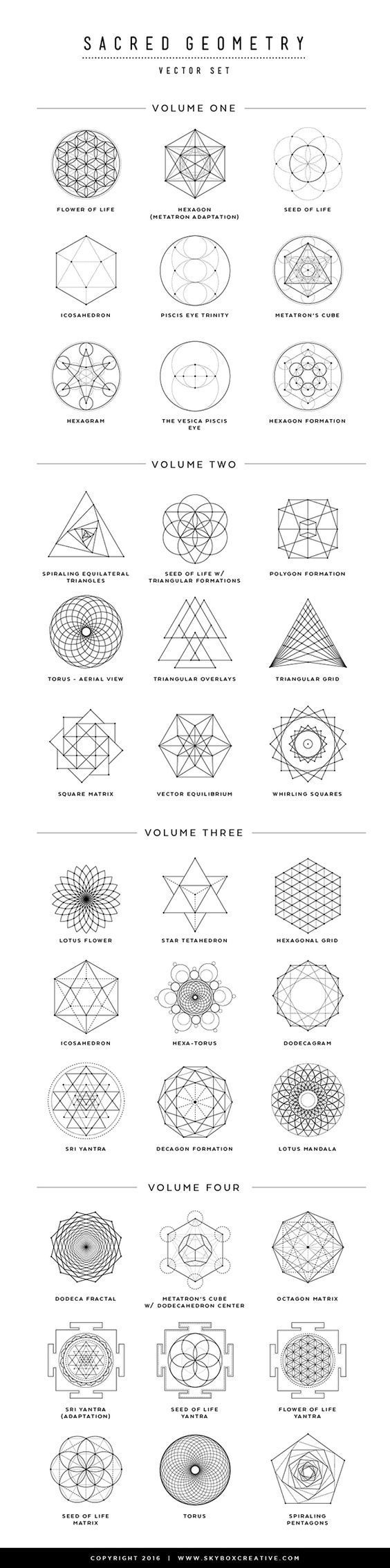 564x2271 36 Sacred Geometry Vectors And Their Meanings In 2018 Sacred