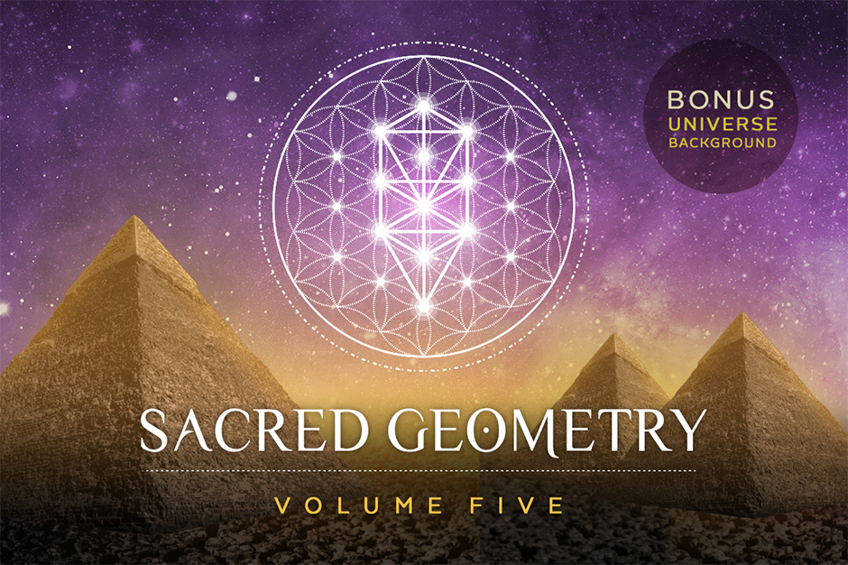 940x626 Sacred Geometry Vector Set Vol. 5 Unique Handcrafted Geometry Set