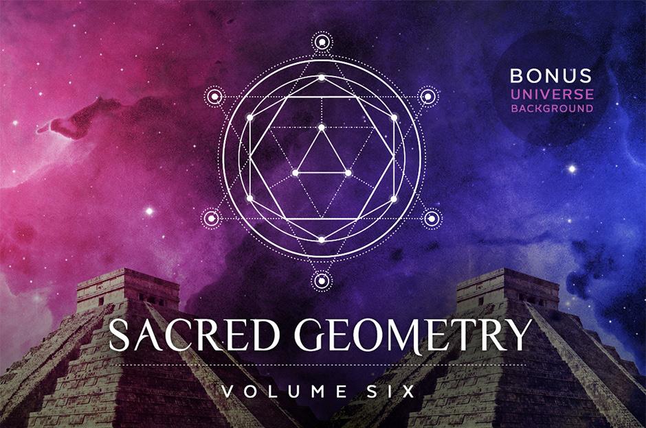 940x624 Sacred Geometry Vector Set Volume 6 9 New Designs + Bonus Background!