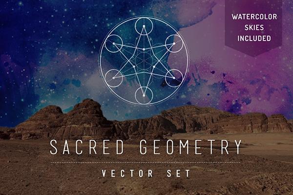 600x399 Sacred Geometry Vector Set On Behance