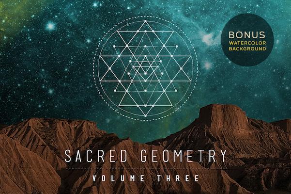 601x400 The Sacred Geometry Vector Set Psdblast